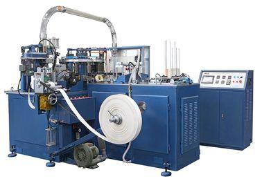 中国 SCM-600 90pcs/min のヒーターのシーリング/超音波単位が付いている自動紙コップ機械/作成機械類 代理店
